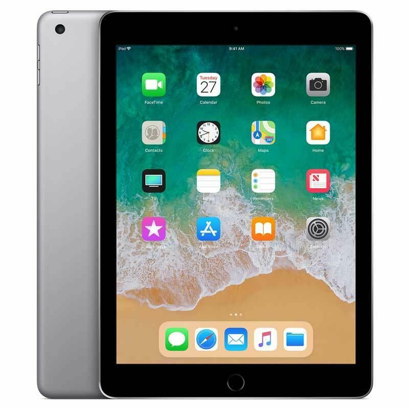 Apple iPad 5.Gen 128GB WiFi + 4G 9,7` 2048x1536 IPS Spacegrau B-Ware MP2D2FD/A